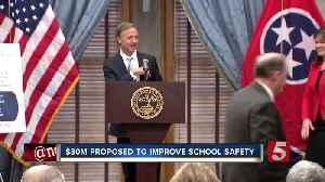 News video: Gov. Haslam Proposes $30M For School Safety