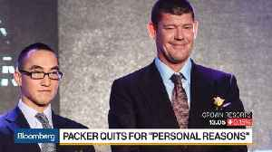 News video: Crown Resorts' Packer Quits for 'Personal Reasons'