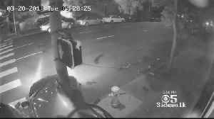 News video: Surveillance Video Captures Horrific Collision On Gough Street