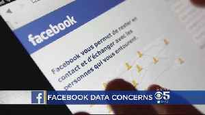 News video: Facebook Data Privacy Scandal Continues To Grow