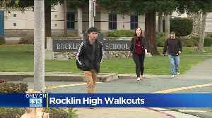News video: Student Planning Abortion Protest After School Shooting Protest