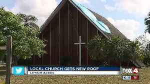 News video: Local church gets free roof