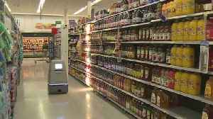 News video: Walmart Launches Small Army Of Autonomous Scanning Robots.
