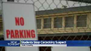 News video: High School Students Save Girl From Carjacking