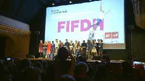 News video: Filmmakers recognised for work on human rights
