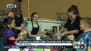 News video: Summer camp teaches kids how to cook -- 7:30am live report