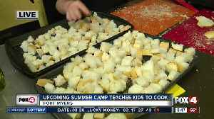 News video: Summer camp teaches kids how to cook -- 8:30am live report