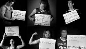 News video: STRONG: Local high school athletes pay tribute to Stoneman Douglas