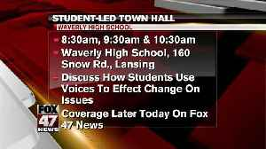 News video: Student-led town hall Wednesday morning at Waverly
