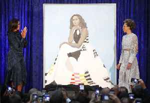News video: Michelle Obama Portrait Relocated Due to Higher Demand