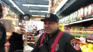 News video: Update: FDNY Company 95 Readies For The Storm