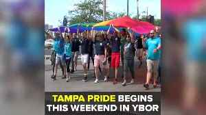 News video: Tampa's Pride Parade & Festival returns to Ybor City this weekend | Taste and See Tampa Bay