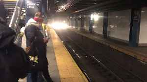 News video: Update: Timing A Subway Commute Amid The Nor'easter