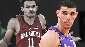 News video: Lonzo Ball Gets TROLLED by Trae Young, Fires Back on Twitter