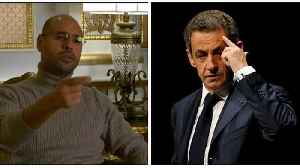 News video: Gaddafi's son offers to give evidence that Libya funded Sarkozy election bid