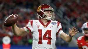 News video: Joel Klatt after Sam Darnold's Pro Day: 'The NY Giants are on the clock because the #1 pick was totally solidified today'