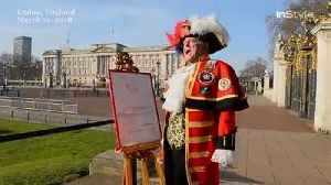 News video: Right Now: Town Crier Announces Madame Tussaud's London Meghan Markle Wax Figure