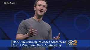 News video: Zuckerberg Vows Changes To Facebook After Cambridge Analytica Scandal