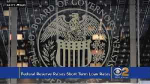 News video: Federal Reserve Raises Key Interest Rate By A Quarter-Point