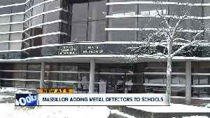 News video: Massillon adds metal detectors to schools due to concerns over violence