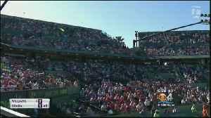 News video: Final Miami Open On Key Biscayne Begins With Familiar Names On The Court