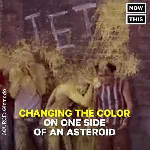News video: We Could Divert Deadly Asteroids By Throwing Paint On Them