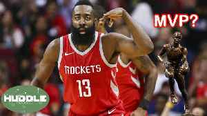 News video: Is James Harden The Best Offensive Player To EVER Play In The NBA? | Huddle