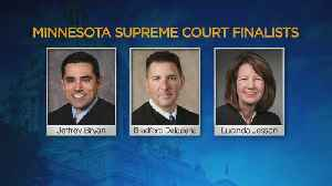 News video: Dayton Names Finalists For State Supreme Court