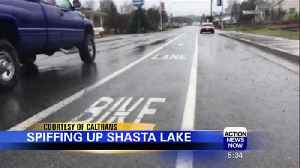 News video: City of Shasta Lake is Getting More Sidewalks