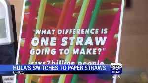 News video: Chico Restaurant is Down with Paper Drinking Straws