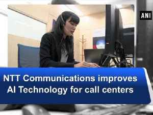 News video: NTT Communications improves AI Technology for call centers
