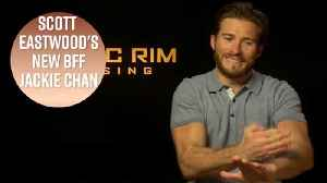 News video: Scott Eastwood's unlikely friendship with Jackie Chan