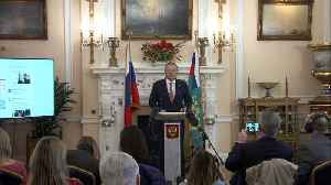 News video: Russian ambassador wishes Salisbury victims speedy recovery