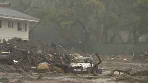 News video: Storms threaten mudslides in Southern California