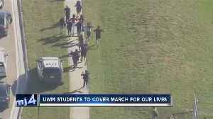 News video: UW-Milwaukee journalists heading to Washington D.C. for 'March For Our Lives'