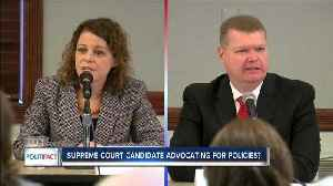 News video: PolitiFact: Supreme Court Candidate advocating for policies?