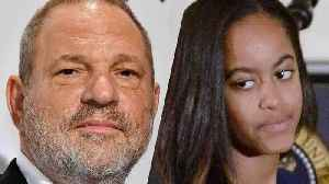 News video: The Weinstein Company Owes Malia Obama Money, Documents Reveal