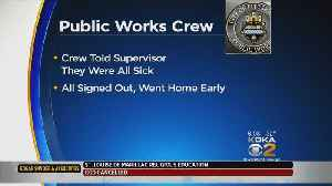 News video: Pittsburgh Public Works Employees Suspended