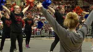 News video: Boise State Spirit Squad Helps Special Olympic Cheer Team