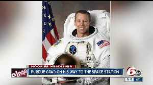 News video: Purdue grad heads to the International Space Station