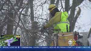 News video: New Jersey Residents Worried About Power Outages
