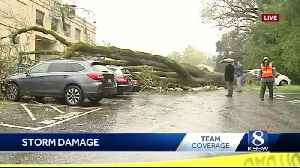 News video: Wild weather across the Central Coast