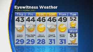 News video: WEATHER UPDATE: March 21: 10PM