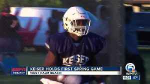 News video: Keiser holds first ever Spring game