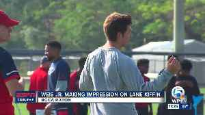 News video: Lane Kiffin impressed with Weis Jr.