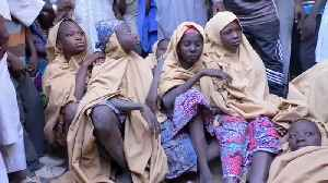 News video: Boko Haram frees scores of abducted Nigerian schoolgirls after month in captivity