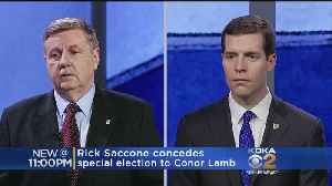 News video: Republican Saccone Concedes Pa. Special Election To Democrat Lamb
