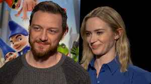 News video: Emily Blunt Pitches Unusual Wedding Song for Prince Harry and Meghan Markle's Royal Nuptials (Exclusive)