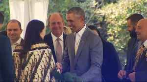 News video: Former U.S. President Obama visits New Zealand, meets PM Ardern