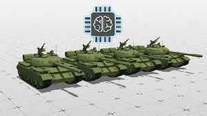 News video: China testing unmanned tank as part of military modernization